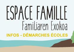 Lien vers l'espace Famille
