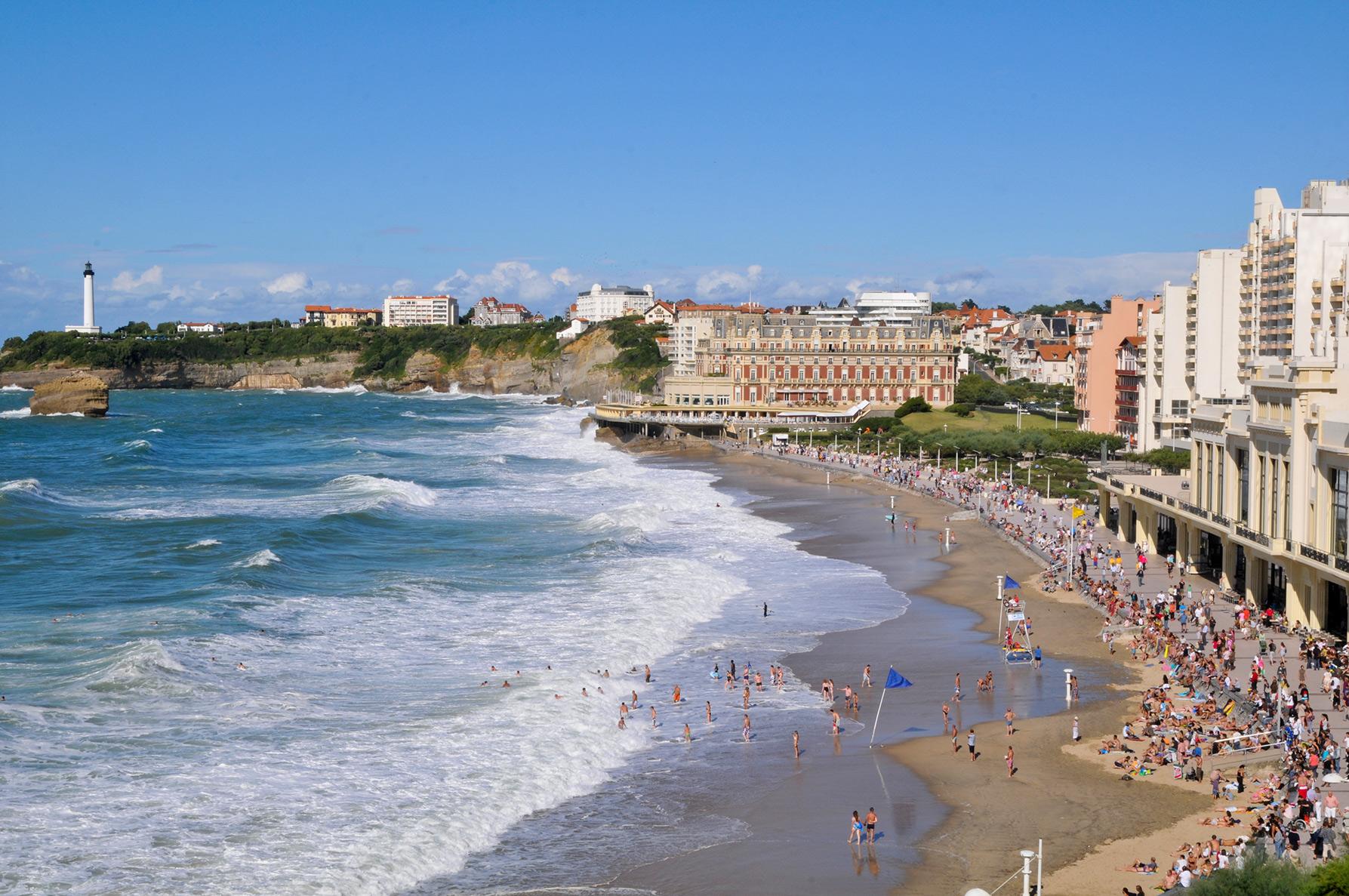 Calendrier Maree Biarritz.Surveillance Des Plages 2019